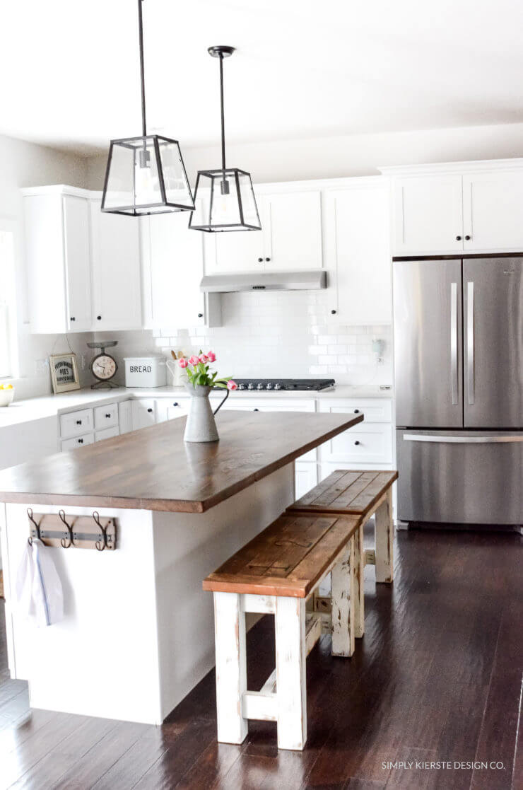 Best 35 Best Diy Farmhouse Kitchen Decor Projects And Ideas This Month