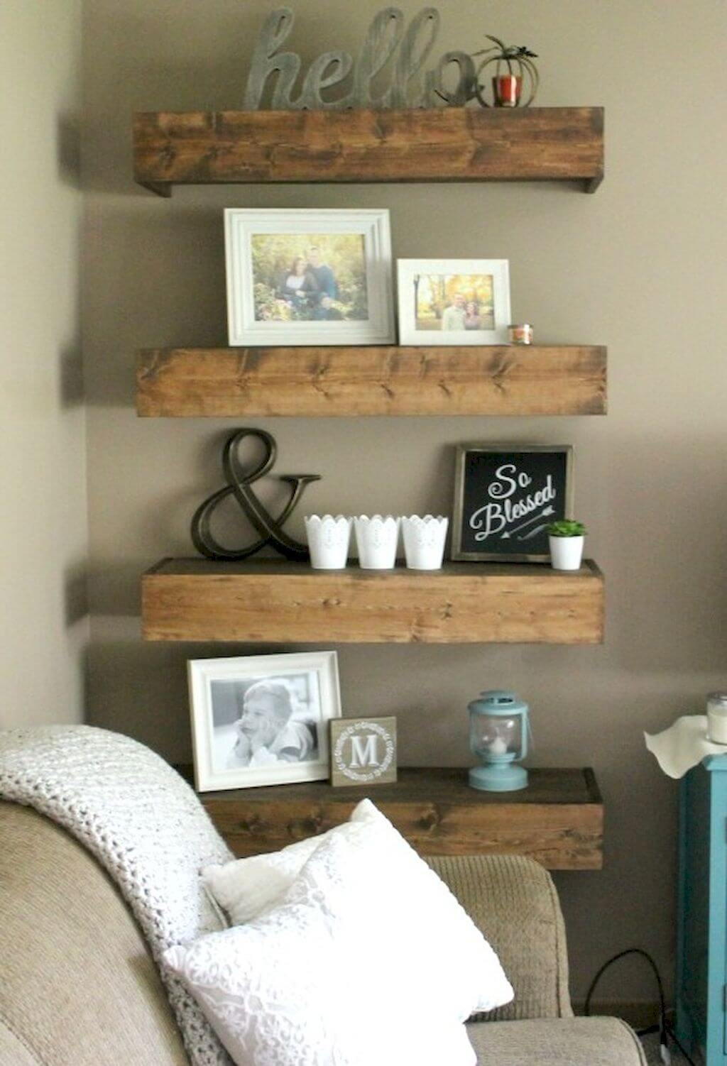 Best 26 Best Farmhouse Shelf Decor Ideas And Designs For 2019 This Month