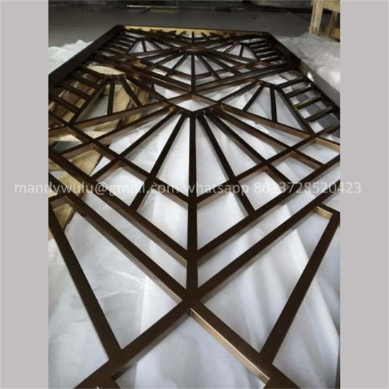 Best China Stainless Steel Laser Cut Metal Screens For Wall This Month