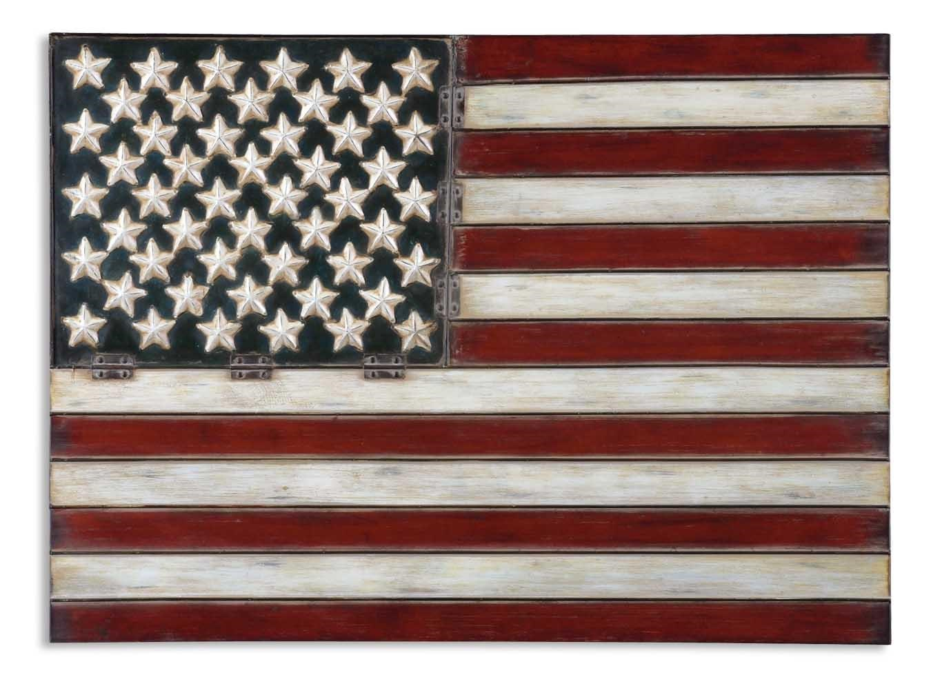Best Alternative Wall Decor American Flag Rotmans Wall This Month