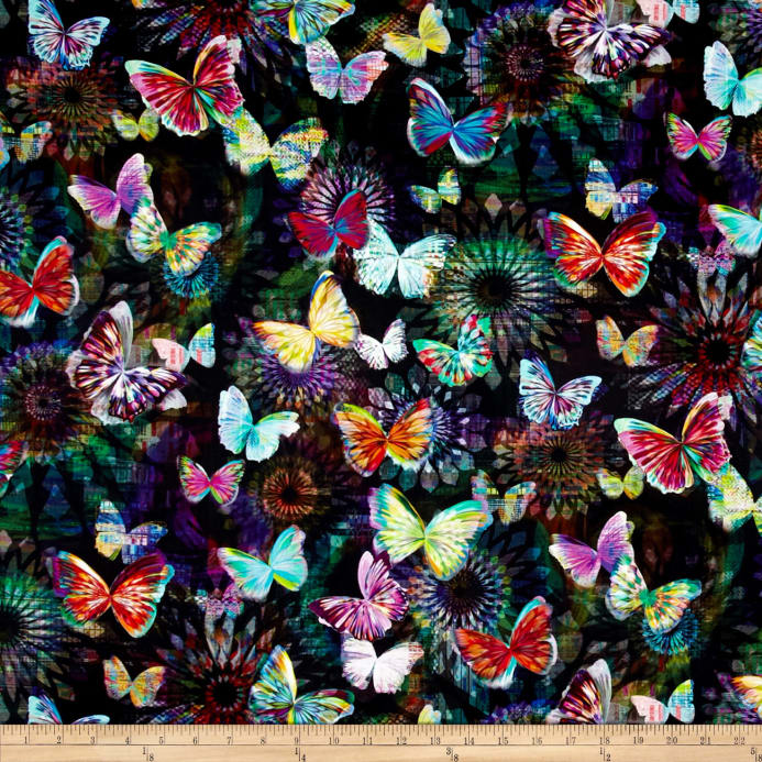 Best Crystalia Digital Print Butterfly Onyx Discount Designer This Month