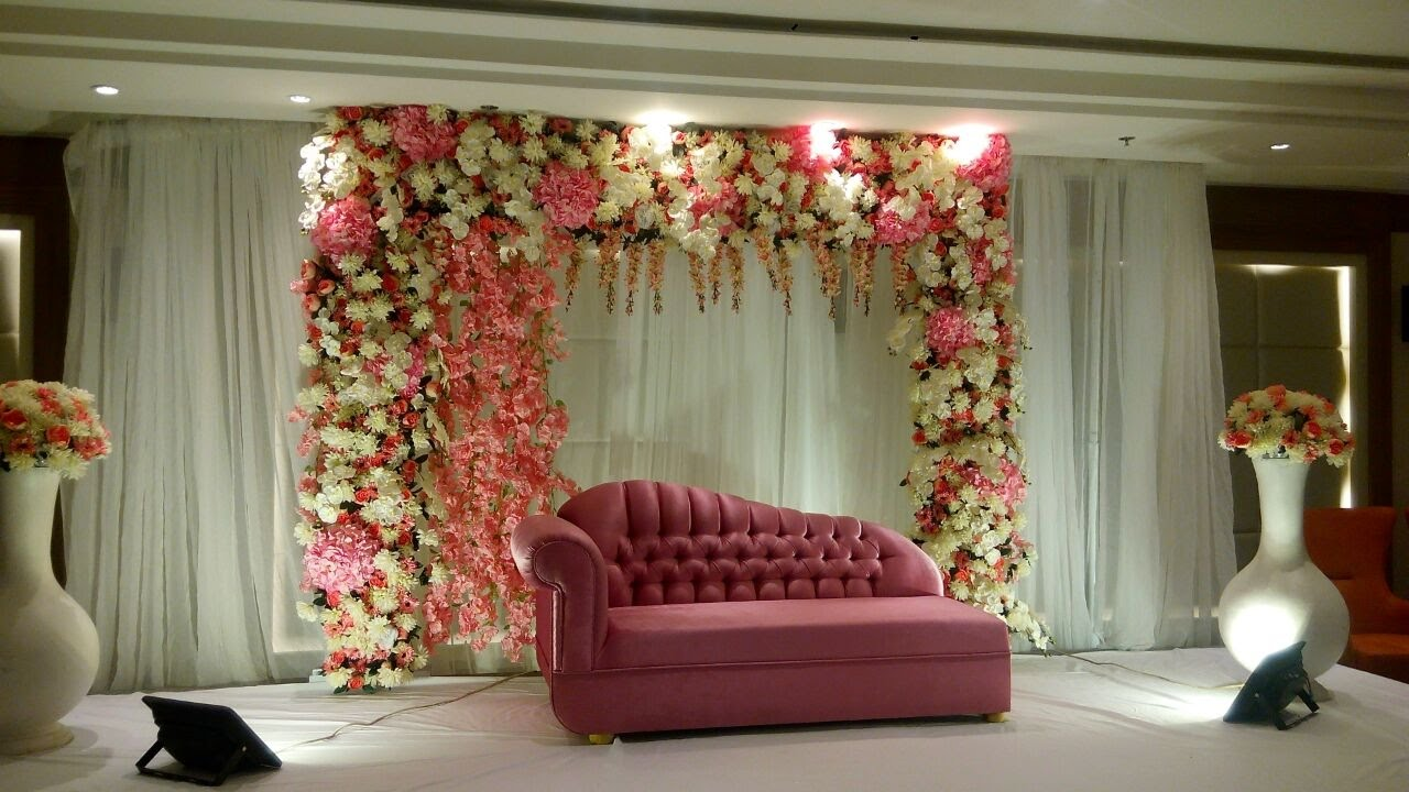 Best Diy Wedding Backdrop Decorating Ideas Youtube This Month