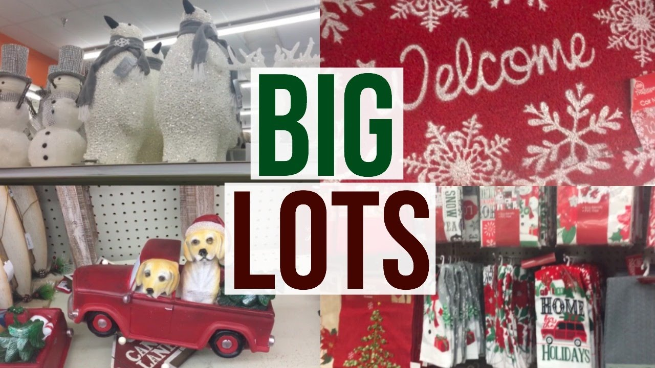 Best Christmas Home Decor At Big Lots Shop With Me Page This Month