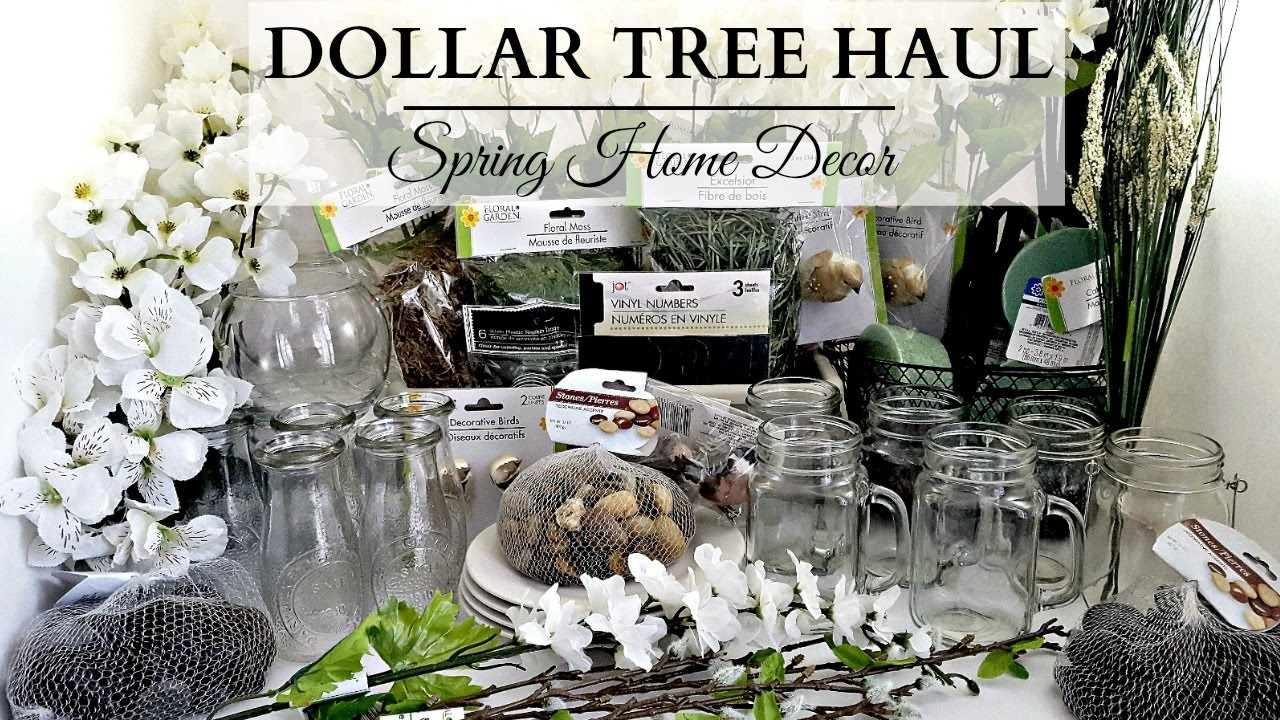 Best Dollar Tree Haul Earth Tone Spring Home Decor Youtube This Month
