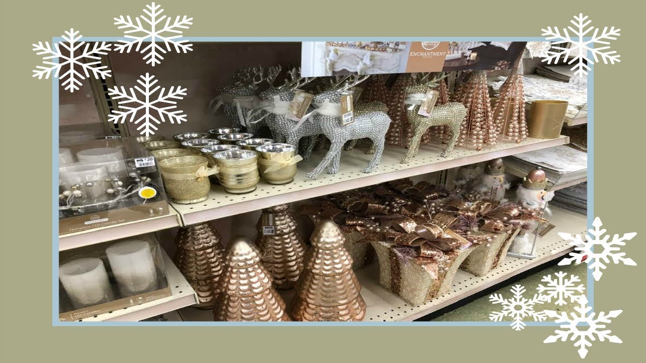Best Shop With Me Christmas Home Decor At Big Lots 2018 Youtube This Month