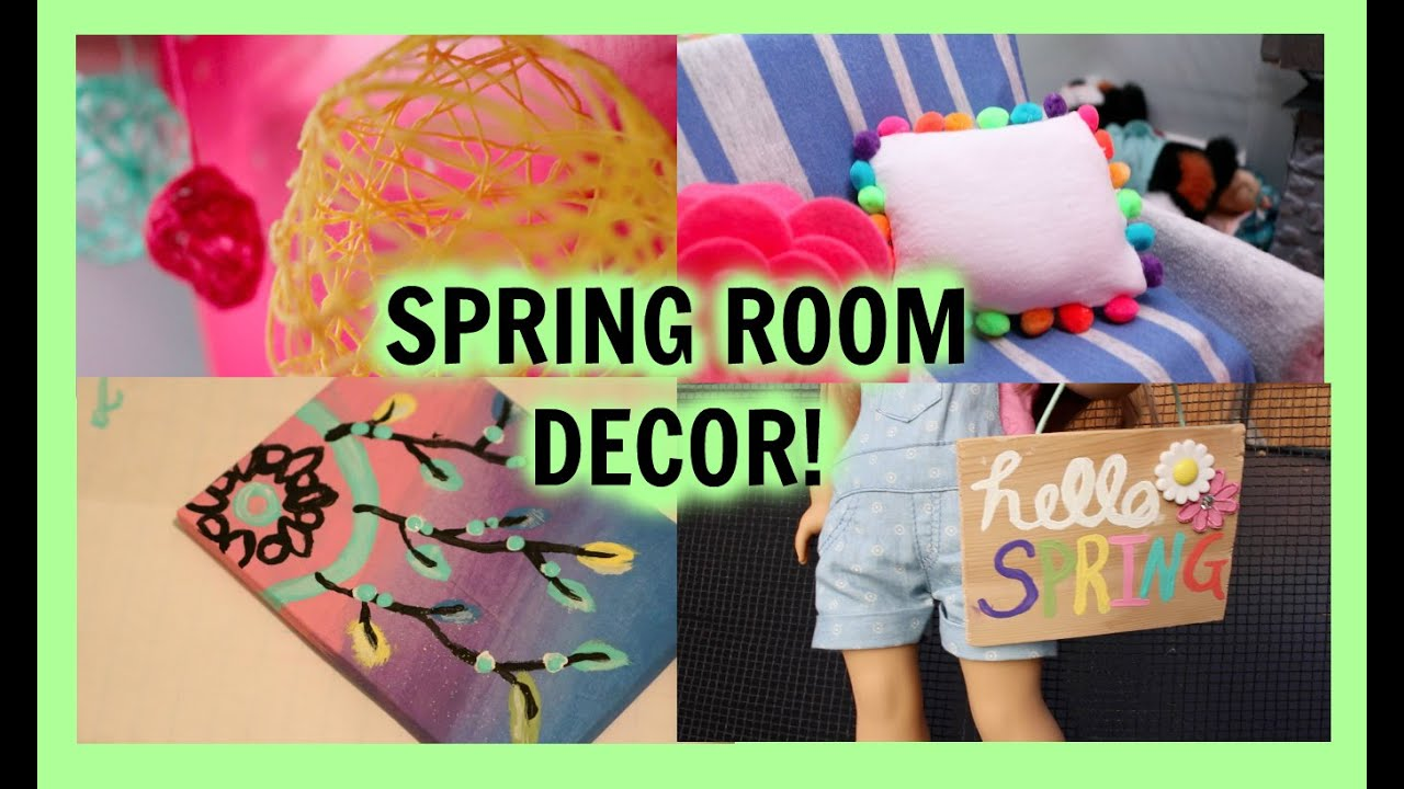 Best Diy Spring Room Decor Diy American Girl Doll Spring This Month