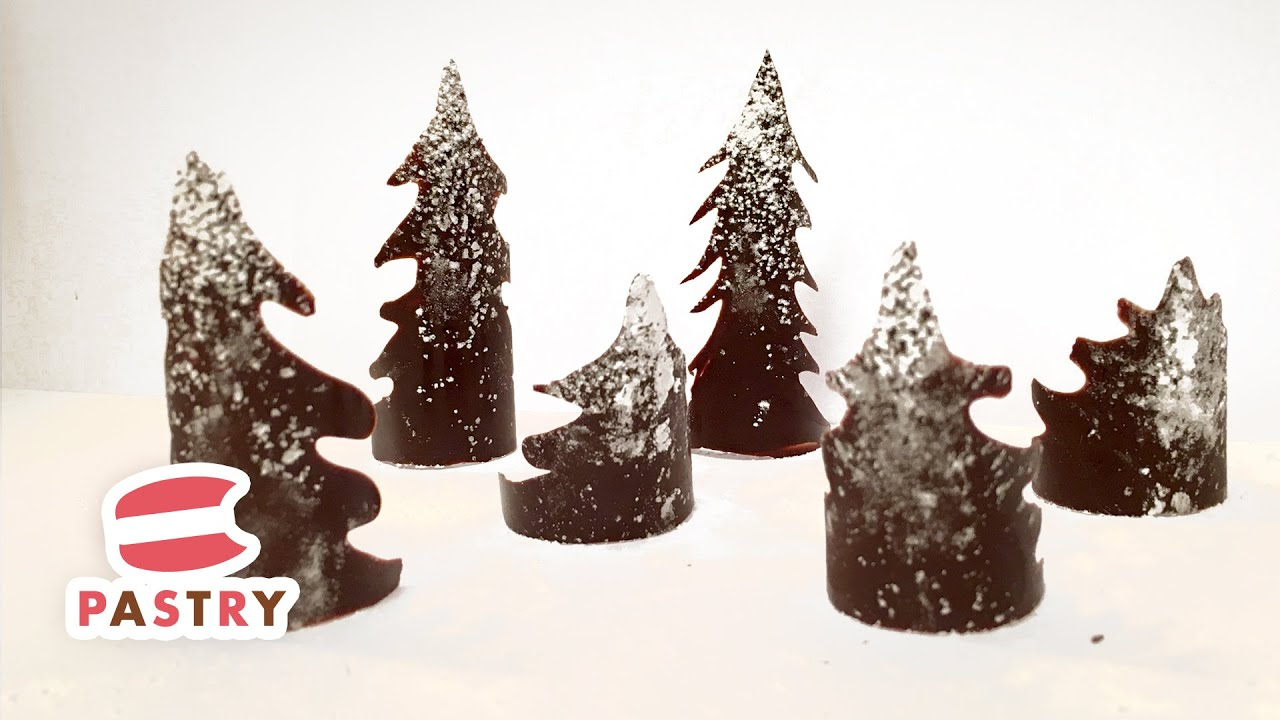 Best Making Chocolate Christmas Tree Decoration Chocolate This Month