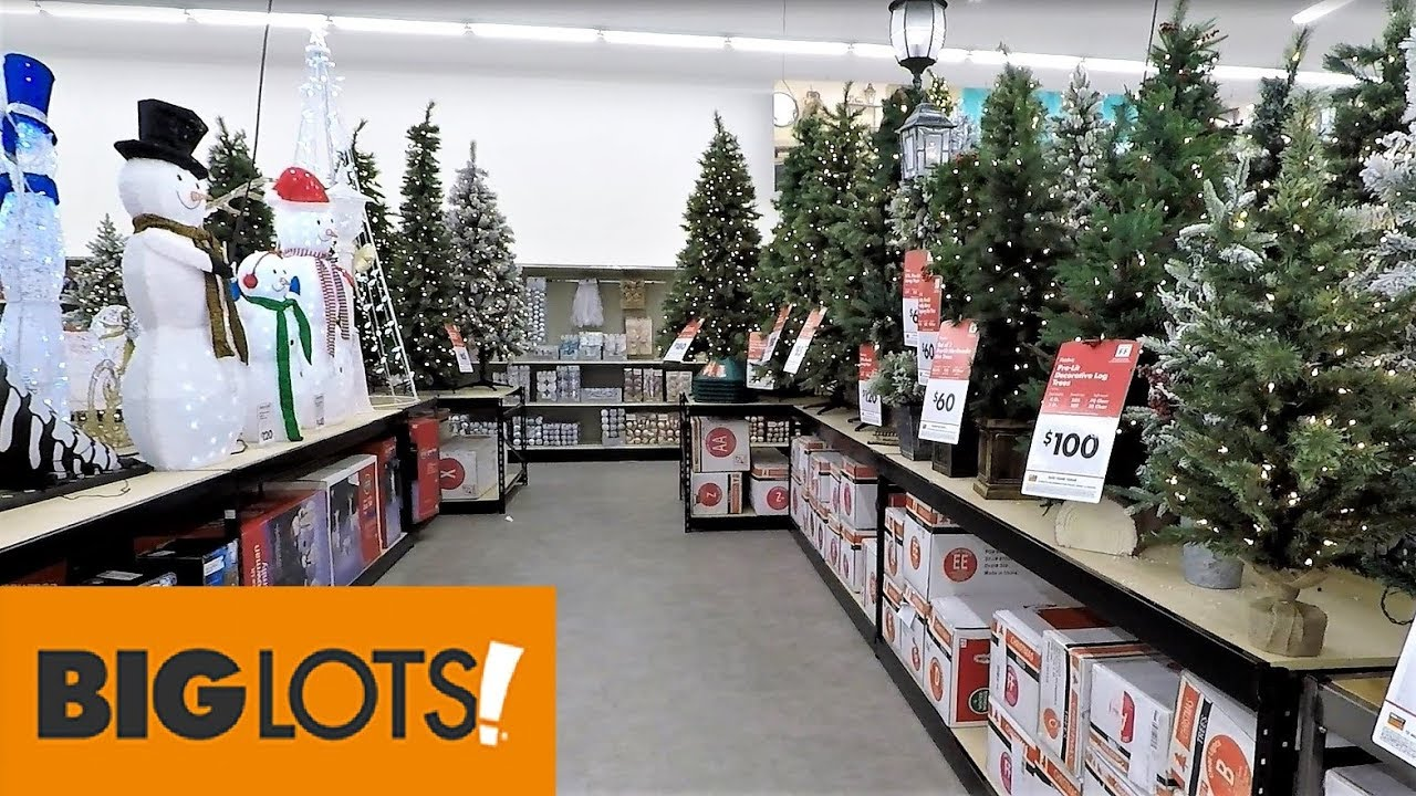 Best Big Lots Christmas 2018 Christmas Trees Decorations This Month