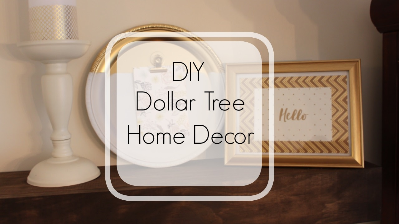 Best Dollar Tree Diy Home Decor Easy Home Decor Crafts Hip This Month