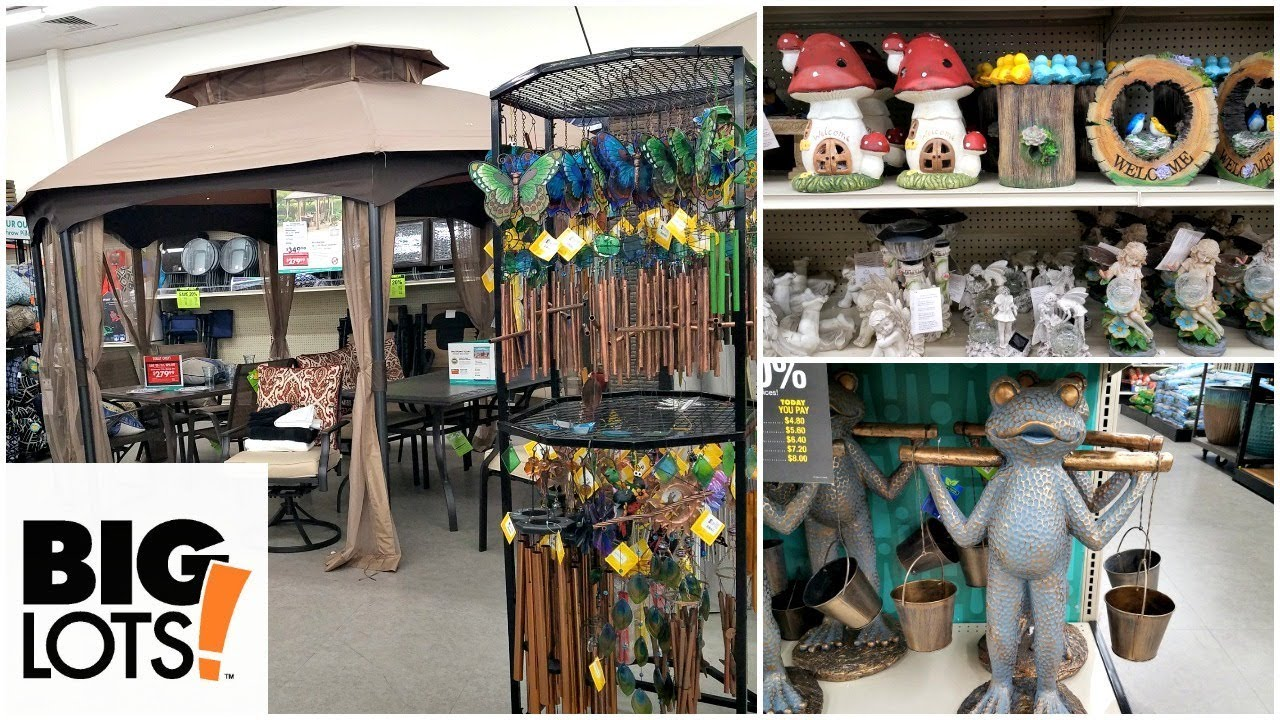 Best Shop With Me Big Lots Patio Furniture Garden Decor Home This Month
