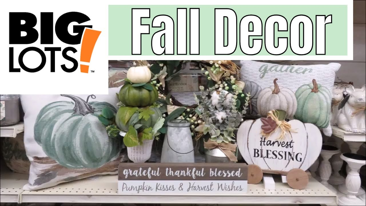 Best Big Lots Fall Decor 2018 Youtube This Month