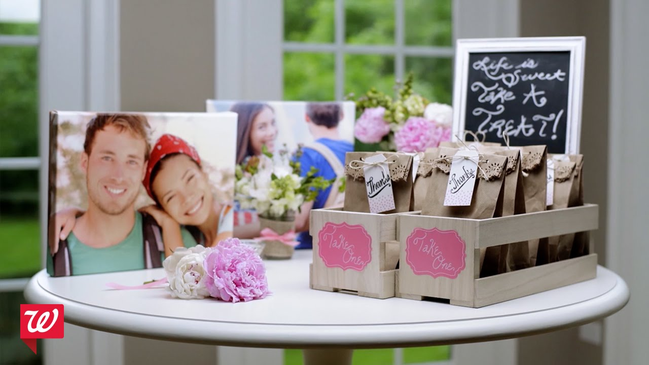 Best Diy Bridal Shower Ideas Walgreens Youtube This Month