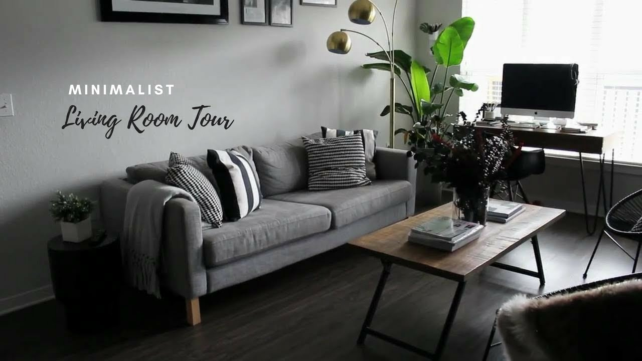 Best Tiny Minimalist Apartment Living Room Tour Youtube This Month