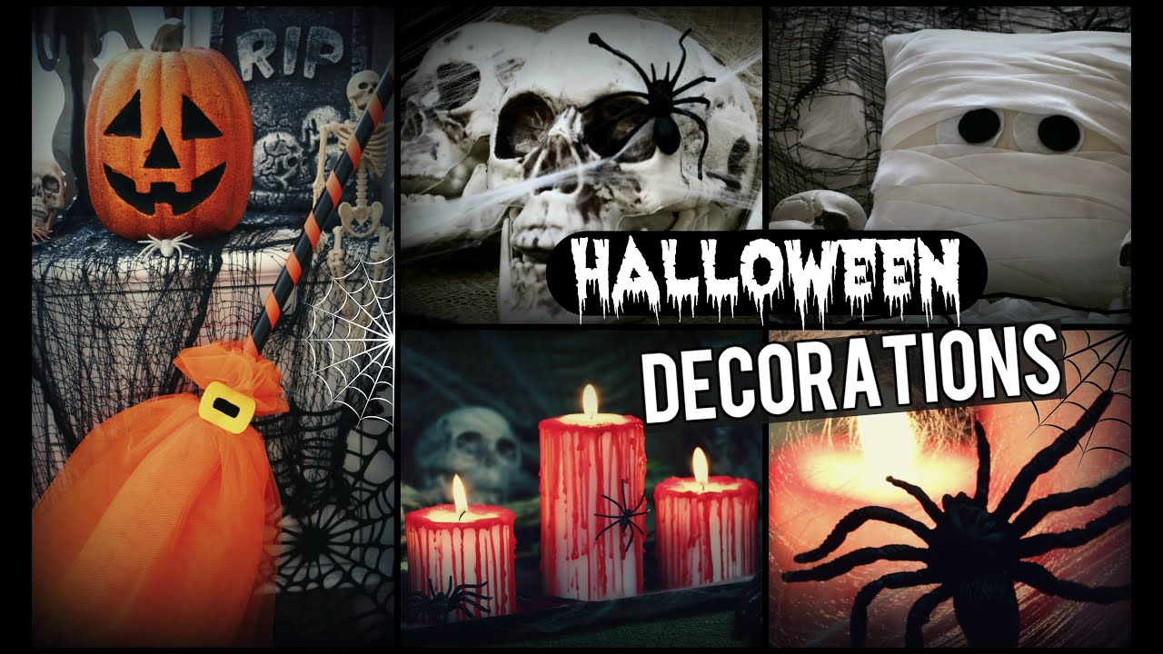 Best Diy Halloween Decorations How To Spooky Halloween Room This Month