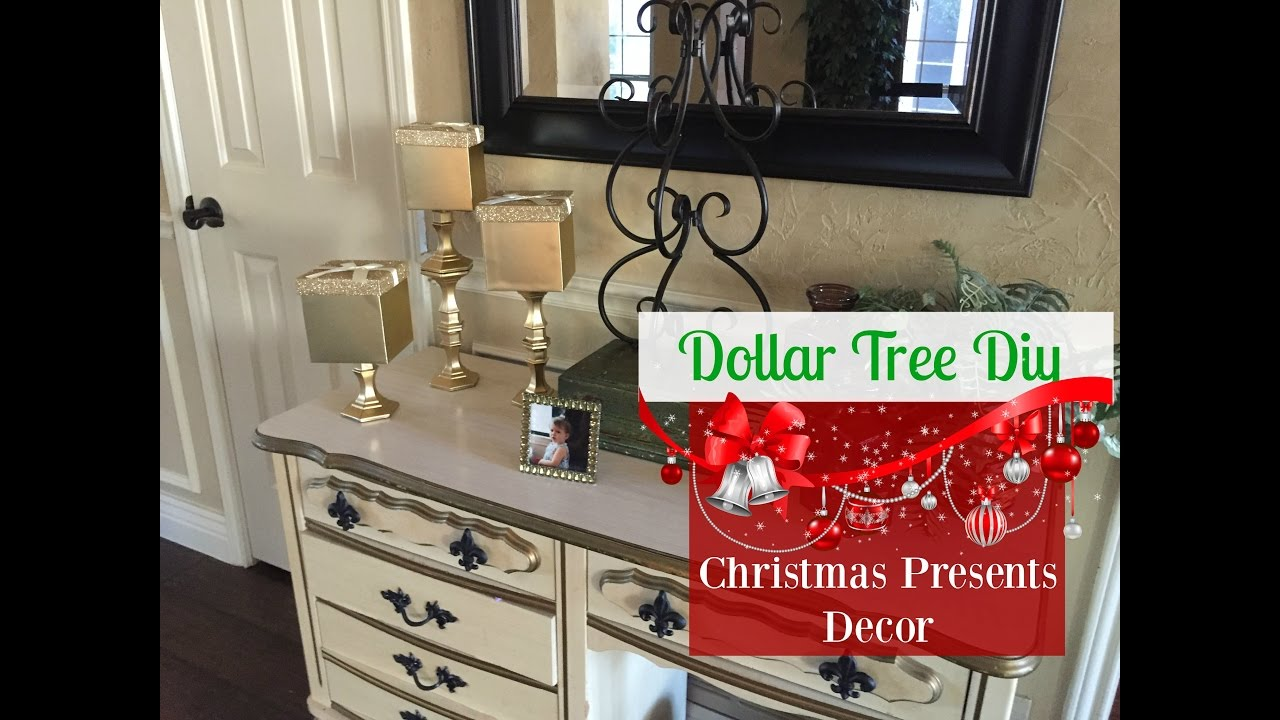 Best Dollar Tree Diy Christmas Presents Decor 2016 Youtube This Month