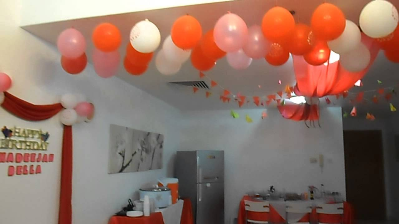 Best Birthday Party Decorations Idea Youtube This Month