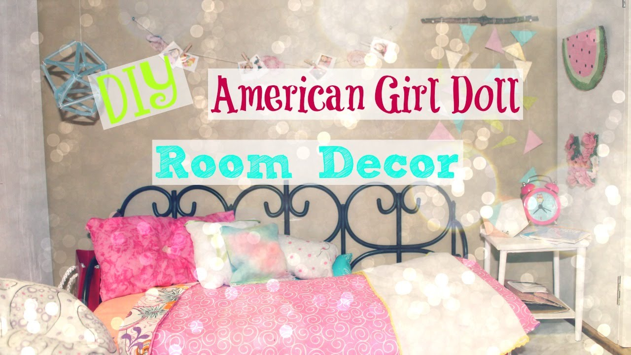 Best Diy American Girl Doll Room Decor 2016 Youtube This Month