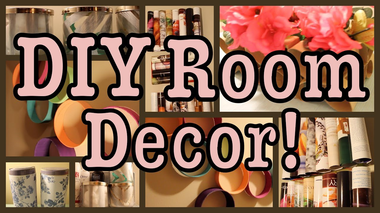 Best Diy Room Decor Recycling Edition Youtube This Month