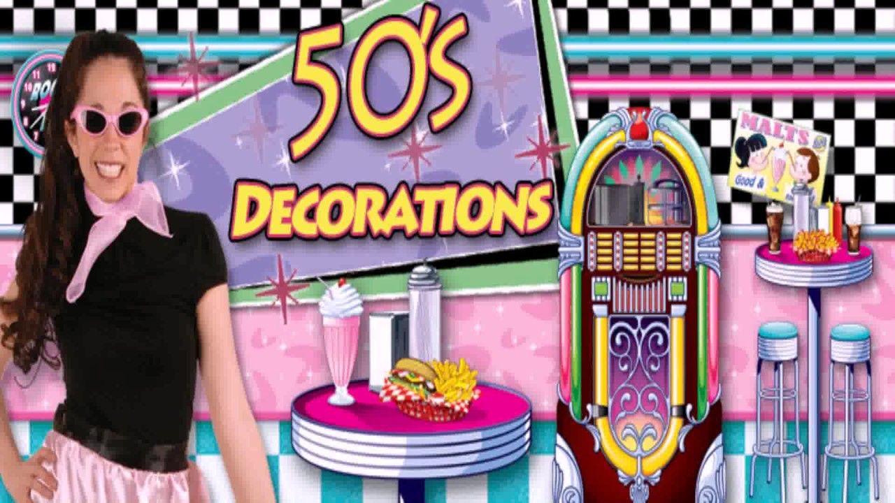 Best Diy 50 S Decorations Youtube This Month