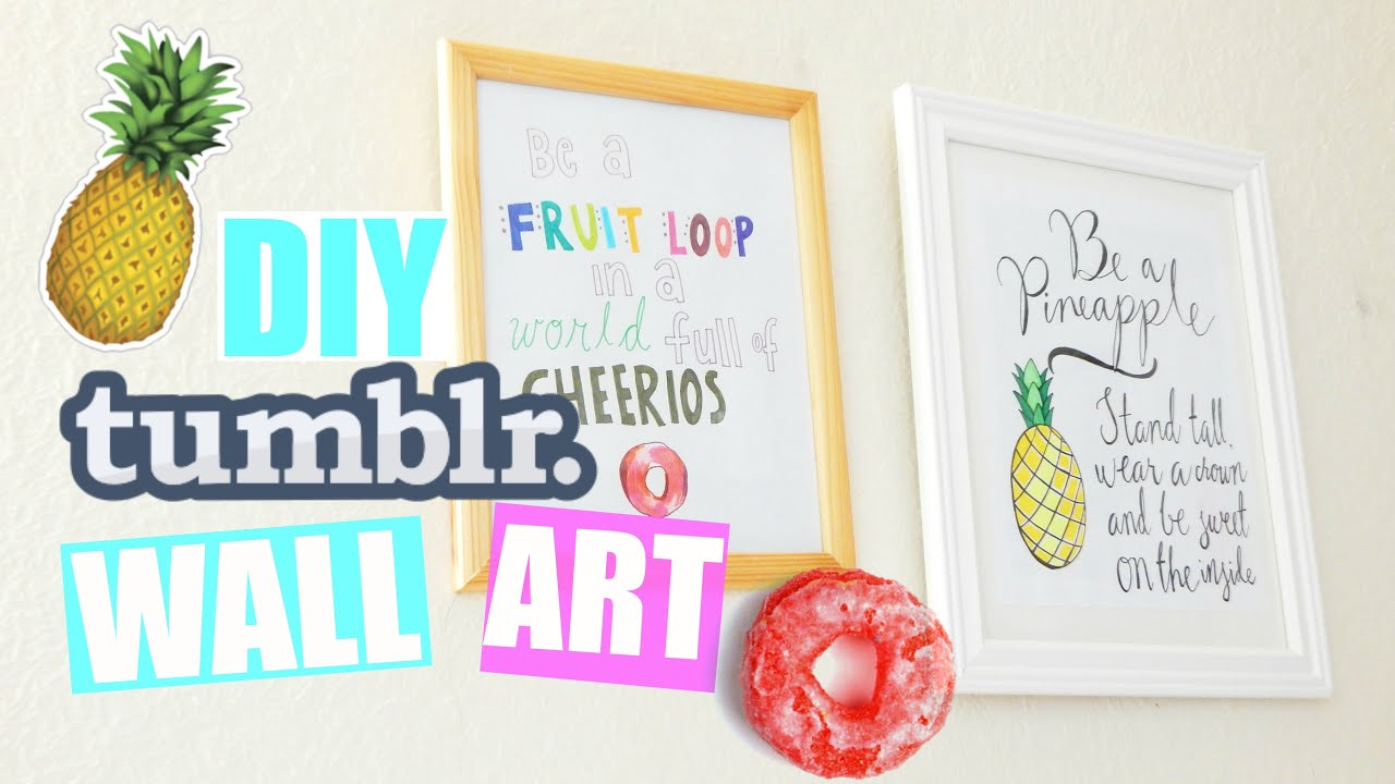 Best Diy Quote Wall Art Room Decor Pastelpandaz Youtube This Month