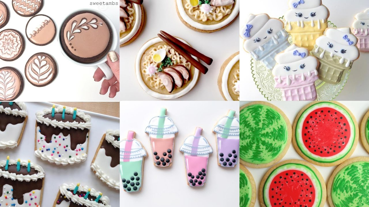 Best Cute Cookie Food My Favorite Cookie Decorating Videos This Month