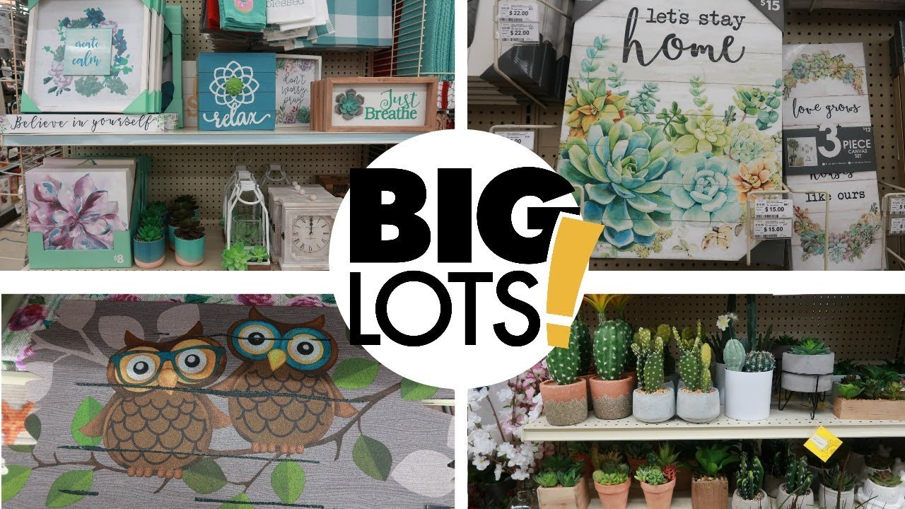 Best Big Lots Spring Home Decor 2019 Come With Me Youtube This Month