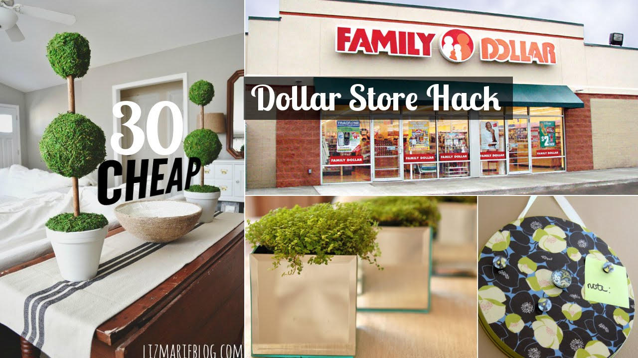Best 30 Decor Ideas From Dollar Store Youtube This Month