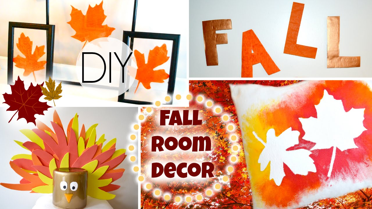 Best Diy Fall Room Decorations For Cheap Youtube This Month