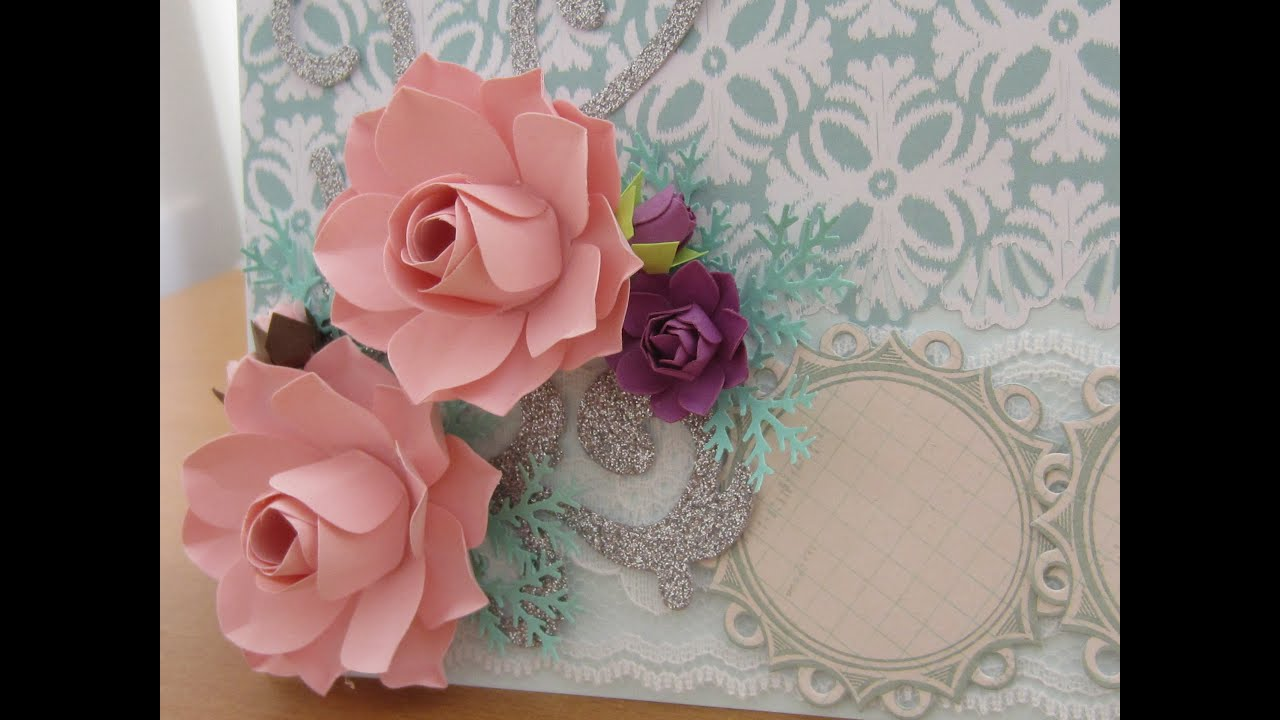 Best How To Make Paper Flower For Handmade Card Decoration This Month