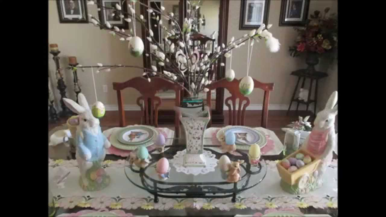 Best Easter Spring Decor Home Tour 2015 Youtube This Month