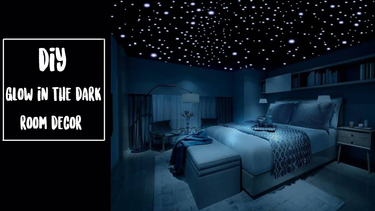 Best Diy Glow In The Dark Room Decor Youtube This Month