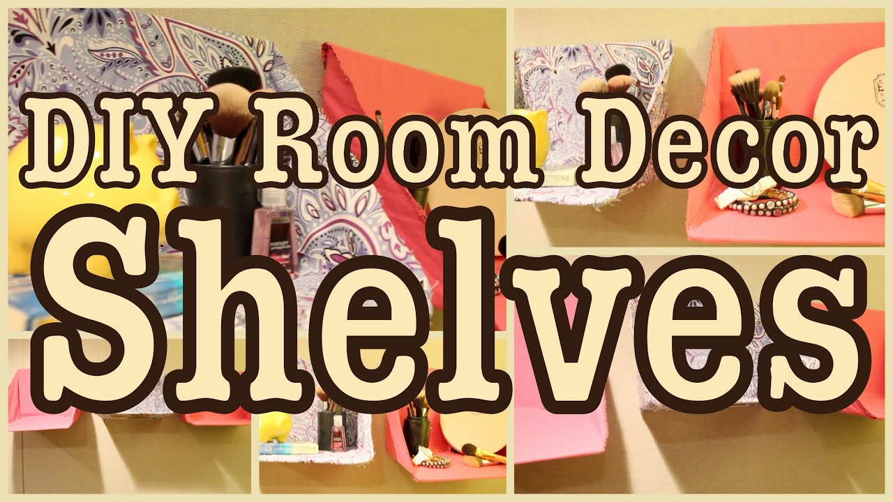 Best Diy Room Decor Shelves Great For Any Room Youtube This Month