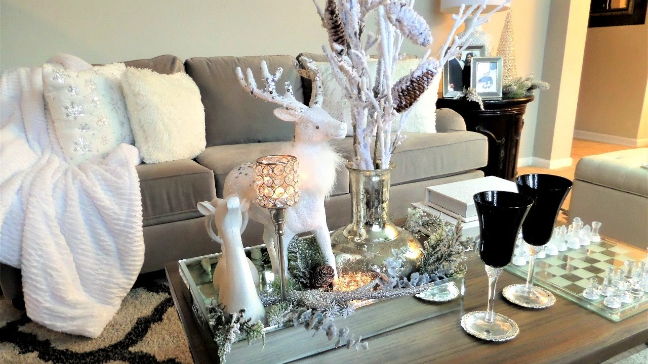 Best Coffee Table Styling Christmas Decor Ideas Youtube This Month