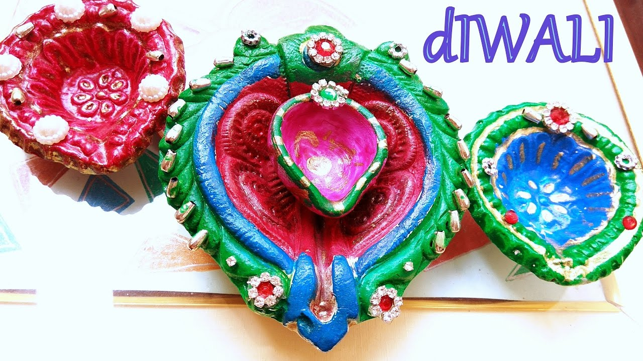 Best How To Make Diya Decoration Ideas For Dipawali Diy Home This Month