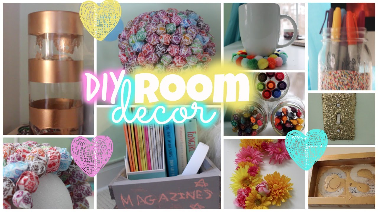 Best Diy Room Decor ♡ Simple Colorful Youtube This Month
