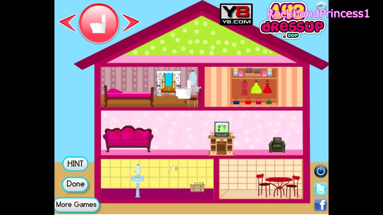 Best Barbie Doll House Decor Game Barbie Online Game Youtube This Month