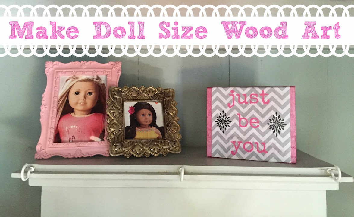 Best Diy American Girl Doll Room Decor Youtube This Month