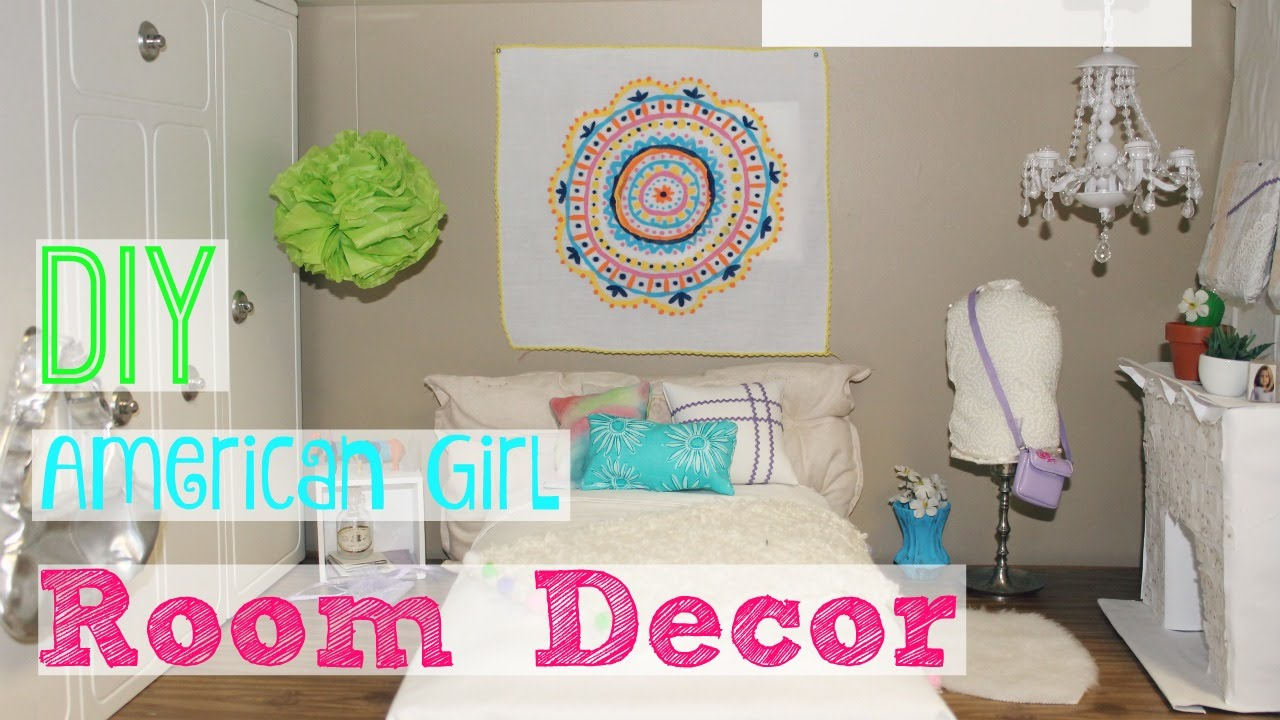 Best Diy American Girl Room Decor Youtube This Month