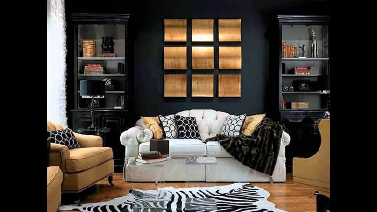 Best Black White And Gold Living Room Ideas Youtube This Month