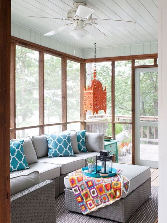 Best 27 Screened And Roofed Back Porch Decor Ideas Shelterness This Month