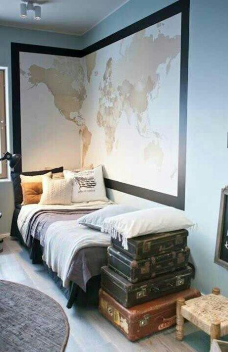 Best Creating A Travel Themed Bedroom – Design Indulgences This Month