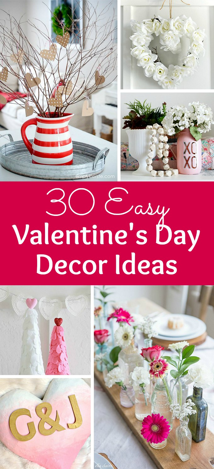 Best 30 Easy Valentine S Day Decor Ideas Hello Little Home This Month