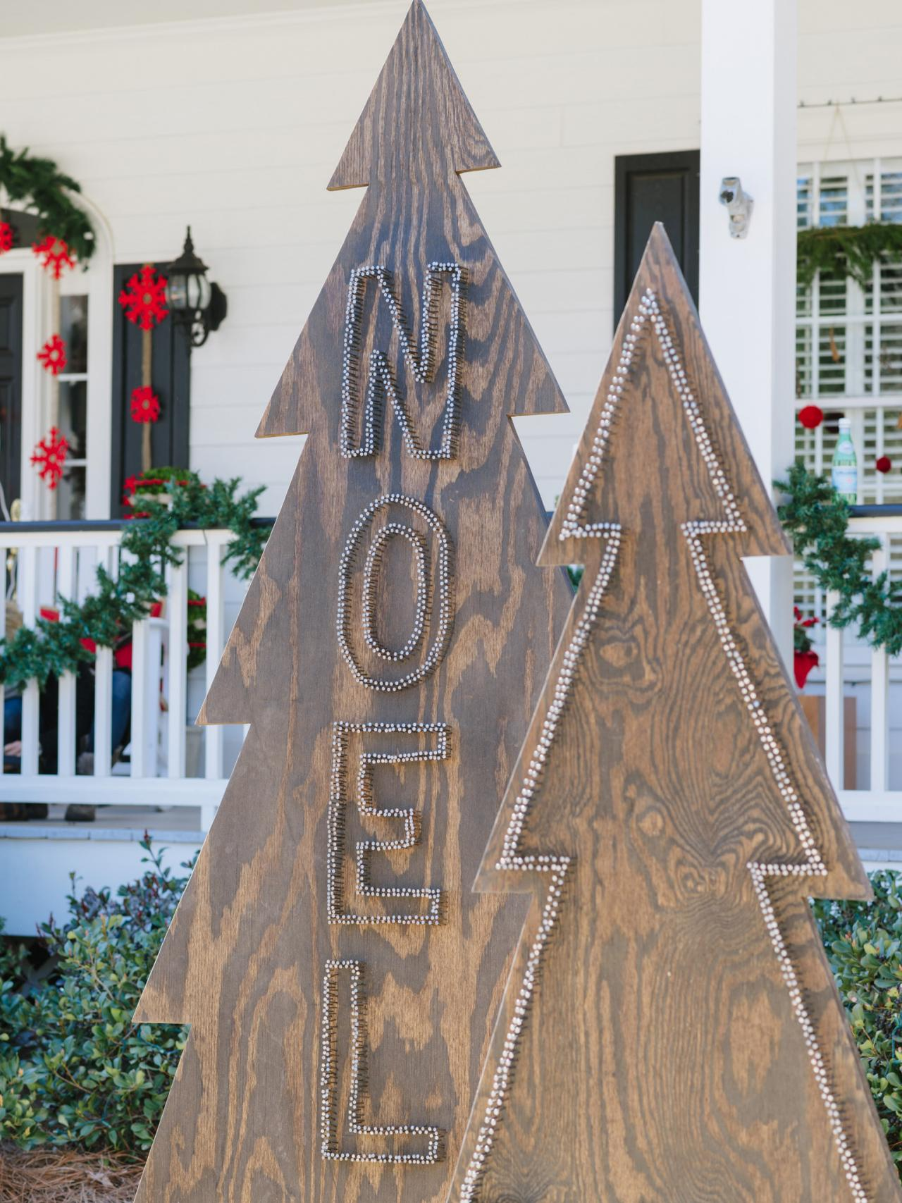 Best How To Make Rustic Nail Head Christmas Trees Hgtv This Month