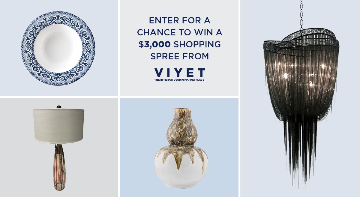 Best Viyet Elle Decor Sweepstakes This Month