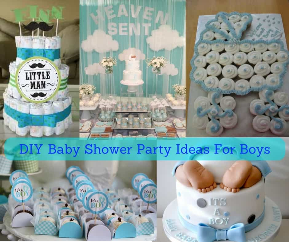 Best Diy Baby Shower Party Ideas For Boys February 2018 Check This Month