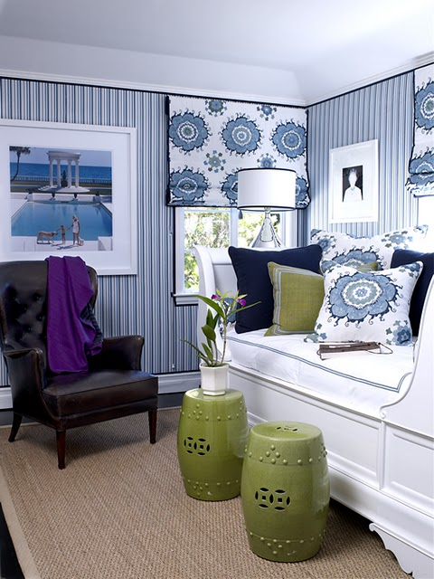 Best Decorating With Blue And White This Month