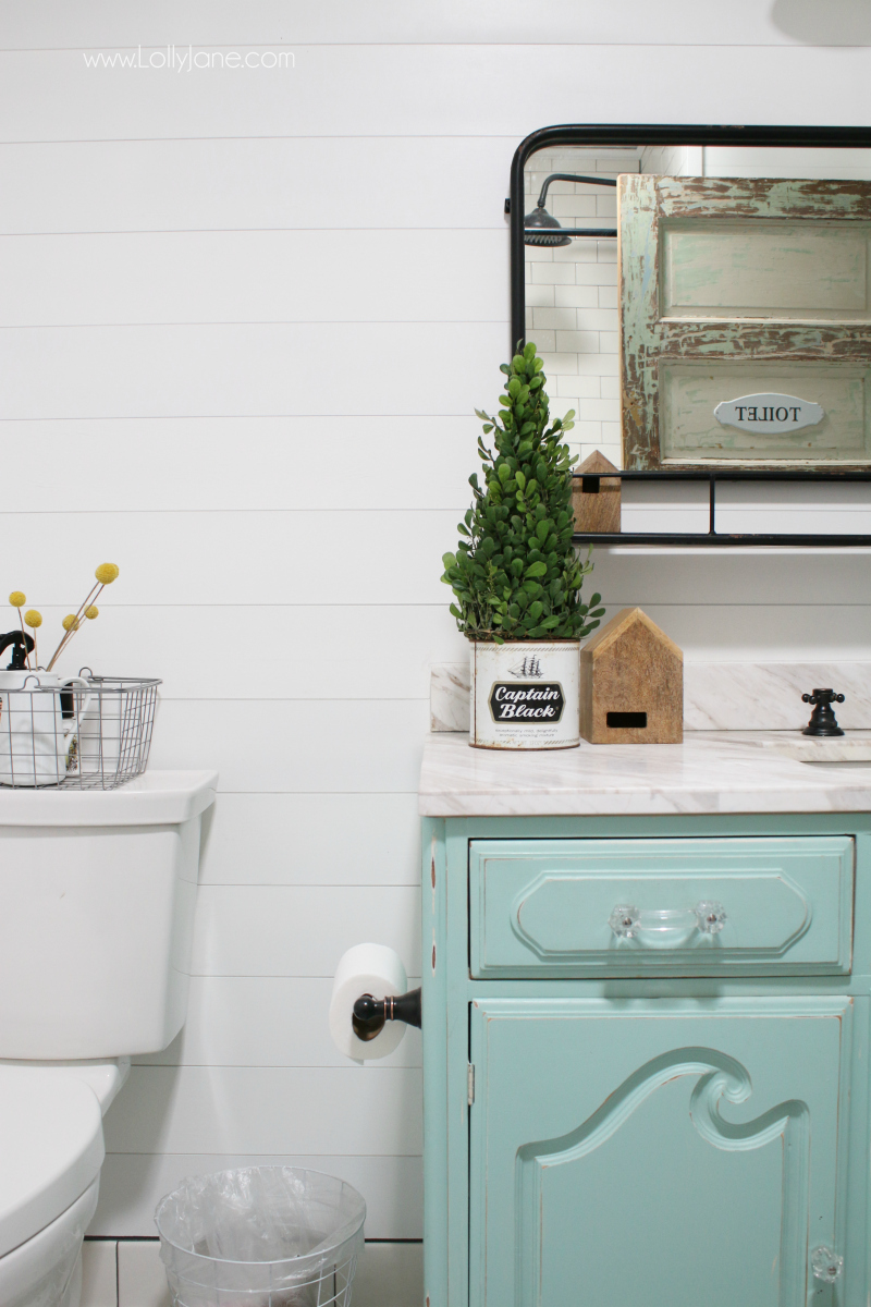 Best Farmhouse Bathroom Remodel Sources Lolly Jane This Month