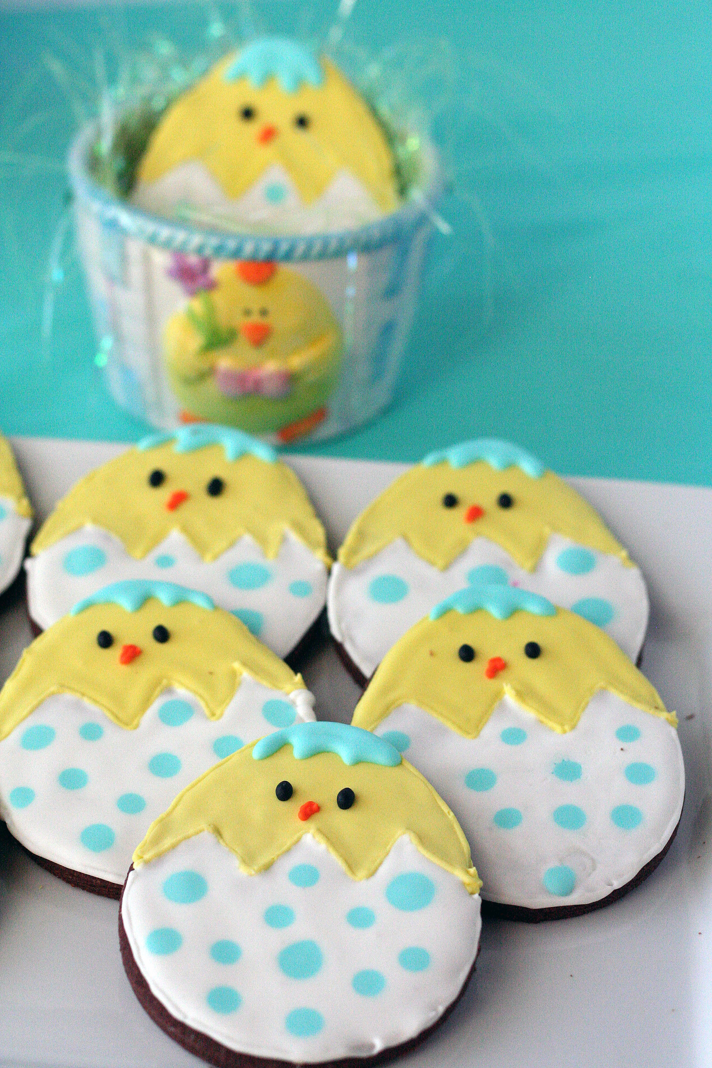 Best Decorated Easter Chocolate Cookies – A Hip A Hop A This Month