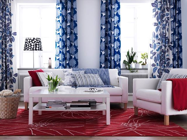 Best Red White Blue Decor Nidhi Saxena S Blog About This Month
