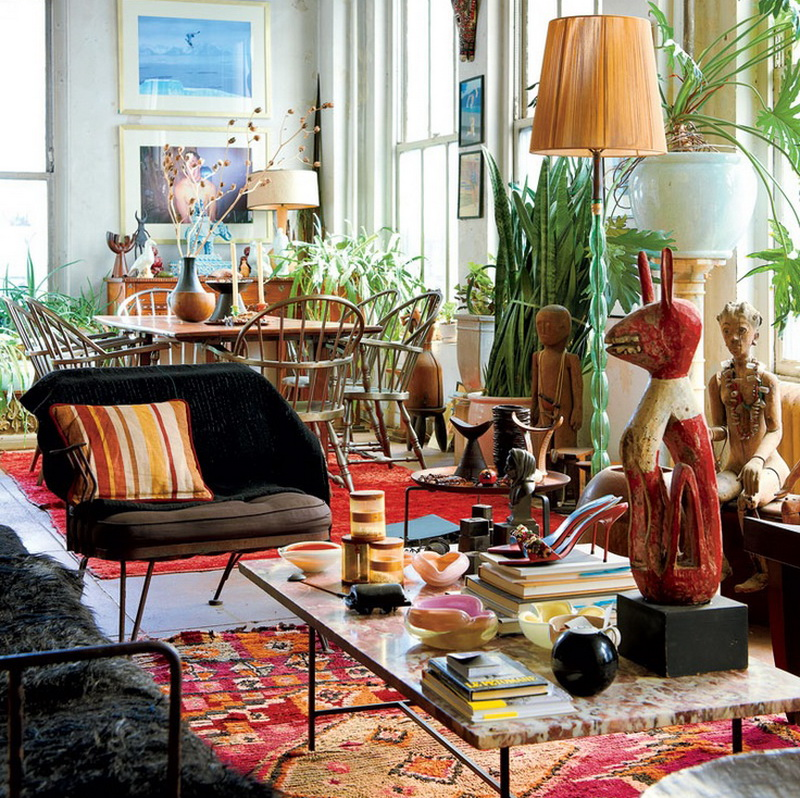 Best Bohemian Home Decor – Exuberant Mix Of Colors And Patterns This Month